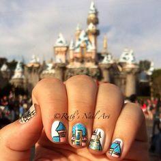 Disneyland castle Inspired.