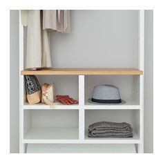 IKEA ELVARLI Insert White 80x36 cm You can use the insert with open compartments or place an ELVARLI drawer into it for more storage possibilities.