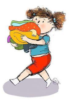 Bajka pomagajka dla dzieci o bałaganie i sprzątaniu