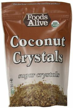 Foods Alive Coconut Sugar Crystals, 14 Ounce - http://spicegrinder.biz/foods-alive-coconut-sugar-crystals-14-ounce/