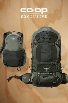 The Osprey Aether AG 70 EX pack is great for a multiday adventure or a gear-intensive weekend. Its heat-moldable hipbelt and harness provide a comfortable fit for heavy loads and long miles. Haul your gear to camp, then remove the top lid to convert it into a lumbar pack for summiting nearby peaks or going on a backcountry picnic. The external hydration reservoir sleeve holds a 2-liter Hydraulics reservoir (included). When you're ready for backcountry adventure, get fitted for this Osprey…