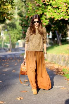 Marilyn's Closet - FASHION BLOG: Back to brown