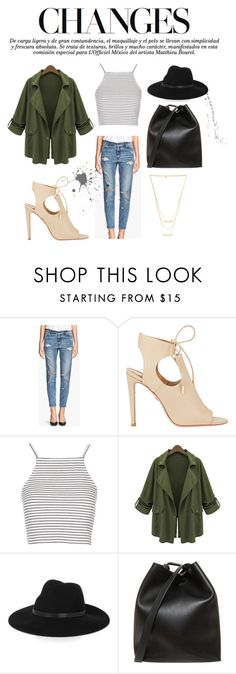"""""""changes"""" by dorbie ❤ liked on Polyvore featuring H&M, Aquazzura, Topshop, By Malene Birger, 3.1 Phillip Lim and Gorjana"""