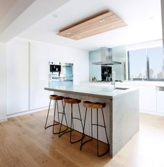 Polished Concrete Benchtop on THE BLOCK from out TOP IT™ range.
