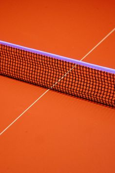 This is so lovely! #Orange #Tennis #Court