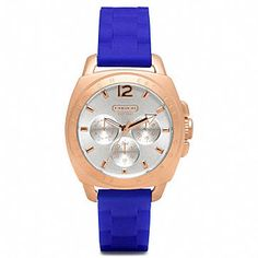 Coach watch-- Rose and blue OMG must have