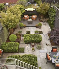 Landscaping Ideas for Yards With No Grass No grass backyard, Small backyard gardens, Small Backyard Ideas For Small Yards, Small Backyard Gardens, Small Backyard Landscaping, Small Gardens, Outdoor Gardens, Landscaping Ideas, Paved Backyard Ideas, No Grass Landscaping, Sloped Backyard