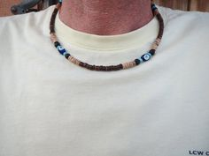 Check out this item in my Etsy shop https://www.etsy.com/listing/238615627/mens-necklaces-men-choker-necklaces-evil