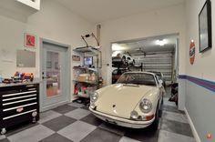 911 garage #porsche
