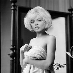 Brigitte Bardot en Marilyn Monroe