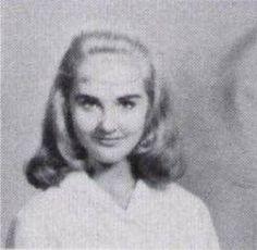 Nancy Barrett in 1960, Freshman year at Baylor University
