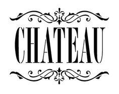 Chateau arte Stencil - Skinny Classic - seleccione tamaño de palabra - STCL912 - por StudioR12