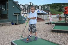Mini golf at the Family Party - Park City Mountain Resort - evo'11 (formerlyphread.com) #evoconf