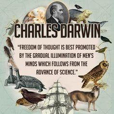 Freedom of thought - Charles Darwin