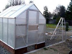 The 6x8 Harbor Freight Greenhouse Kit Can Be A True Bargain With Its 299 Price Tag
