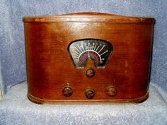 An actual Marconi, but a Canadian model, 1936