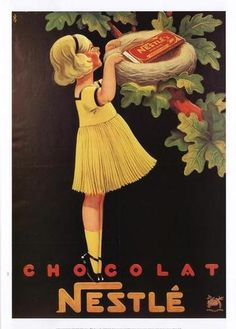 retro nestle...would look cute in the kitchen :)