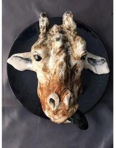 Moose Art, Ceramics, Etsy, Handmade, Animals, Ceramica, Pottery, Hand Made, Animales