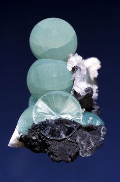 Wavellite is found in fine specimens at Laharran Quarry near Cork. (by Crazy Dave Green on flickr
