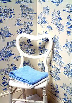 Toile and Chinoiserie Stencils