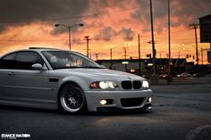 BMW M3 E46. Still the best lookin M3 ever!