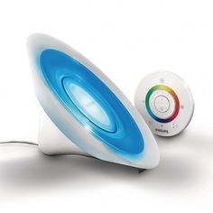 Philips Aura LivingColors Colour Changing LED Table Lamp - White from Litecraft