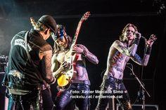 Buckcherry actuaron ayer en Barcelona, hoy lo harán en Madrid y mañana llegarán a Bilbao. © XAVIER MERCADÉ