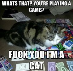 So you're playing a game…