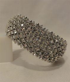 Beautiful Diamond Stretch Wedding Bracelet $35