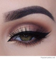 Nice eye makeup for a special day