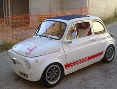 Small and cool enough to go in my bikes collection FIAT500 ABARTH