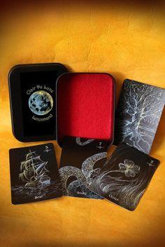 PRE-ORDER Clair De Lune Lenormand Deck  divination by LunaSolare