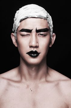 Male models on Behance | Photo. Lan Tran | Model. Cao Lam Vien | Makeup. Ruan Dang