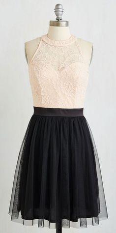 Balletic Aesthetic Dress