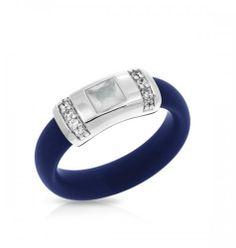 Belle Etoile Celine Blue & Milestone Ring
