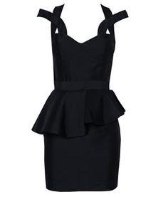 Kamilla structured mini dress