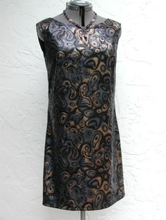 Original Sleeveless Short Evening Dress  size 10/11 www.etsy.com/shop/rrdesigns561