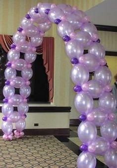 Decoration with Balloons. Arc, columns, flowers.wall of balloons Variedad en decoracion con globos, arcos, columnas, flores, paredes de globos. eleca69@yahoo.es