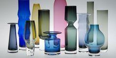 Hans Theo Baumann, Glasgefäße, 1960er Jahre, Gral-Glashütte, Dürnau Foto: Die Neue Sammlung - The International Design Museum Munich (A. Lau...