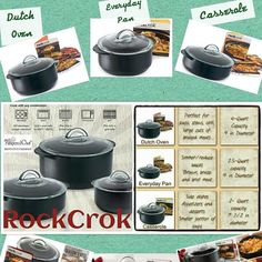 The rock crock comes in 3 different sizes Visit my website at www. Pampered Chef Party, Pampered Chef Recipes, Pampered Chef Products, Rockcrok Recipes, Soup Recipes, No Yeast Bread, Bread Food, Bread Baking, Pampered Chef Catalog