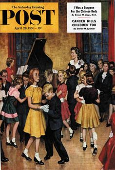 Sat Eve Post Cover - Apr 28 1951  Illustration by Amos Sewell