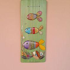 Denizden topladım boyadım süsledi duvarima astım ( 15 × 36 cm ) bilgi almak için…