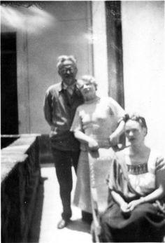 León Trotsky, Nalia Sedova.LA CASA AZUL