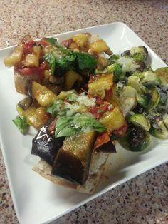 Eggplant & Tomato Tapenade