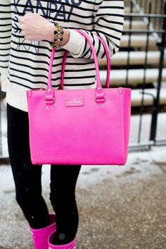 Pink Kate Spade Bag