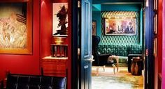 The eclectic world of KEE Club in Central Hong Kong. Beautiful Mind, Beautiful Homes, Hong Kong Nightlife, Exterior Design, Interior And Exterior, Central Hong Kong, Beautiful Home Designs, Bar Lounge, Luxury Accommodation
