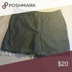"LOFT 5"" Riviera denim shorts Very comfortable and stylish denim shorts. Flat front, dark wash, super soft denim. Worn once, in perfect condition. LOFT Shorts Jean Shorts"