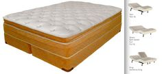 AIRPRO L08 Dual Adjustable Air Beds, Compare to Sleep Number® Bed i8 - we do not sell Sleep Number® Brand Beds!