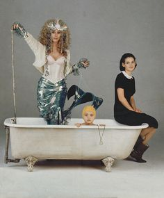 "Cher, Christina Ricci and Winona Ryder in ""Mermaids"" / dir. Richard Benjamin / ph: Kerry Hayes / 1990"