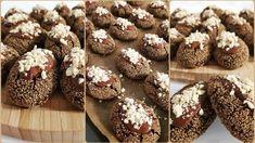 Haşhaşlı Islak Kurabiye Tarifi Turkish Recipes, Macarons, Doughnut, Biscuits, Recipies, Muffin, Food And Drink, Ice Cream, Cookies